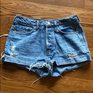 H&M denim shorts. US size 6.